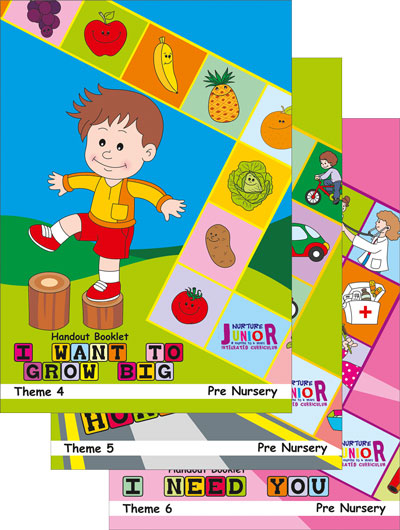 Thematic Textbooks for Preschool