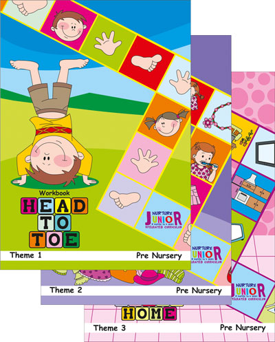 Thematic Workbooks for Preschool